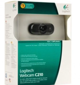 Веб камера Logitech c210