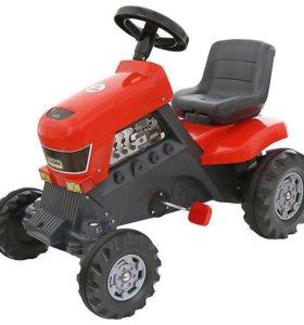 """Каталка-трактор с педалями """"Turbo"""""""