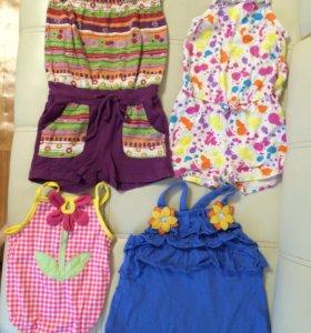 Летняя одежда для девочки 2 года