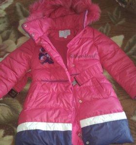 Куртка зимняя ,детская,на рост 116-120см