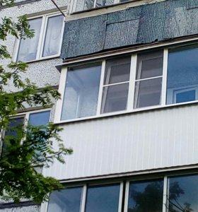 Балконы окна ПВХ