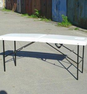 Массажный стол, складной, с вырезом. Доставка.