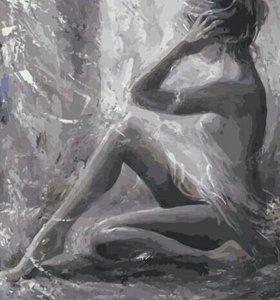 Картина по номерам🎨- обнаженная девушка