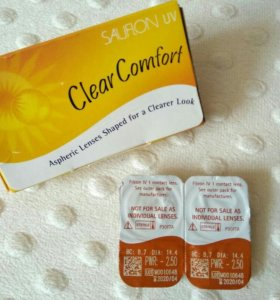 Контактные линзы CLEAR COMFORT, ACUVUE2, AIR OPTIX