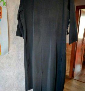 Черное платье, 52-54 размер!!!