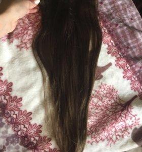 Волосы натуральные славянка 50см