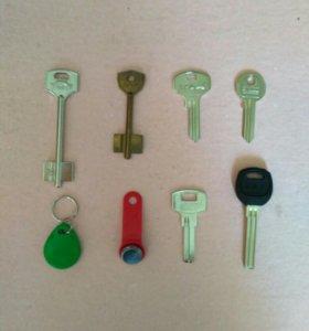 Изготовление ключей (ул. Аэродромная )