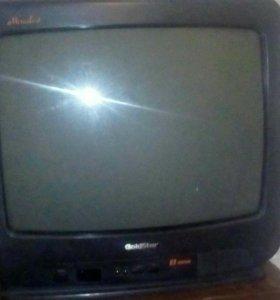Телевизор без пульта в рабочем состоянии