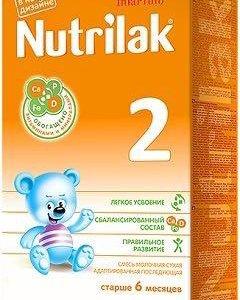 Детская молочная смесь Нутрилак 2