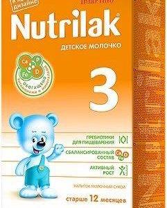 Детская молочная смесь Нутрилак 3