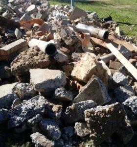 Блоки строительные битые
