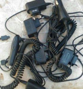 Зарядные ус-во для старых моделей телефонов.