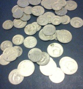 Монеты СССР 1961-91гг
