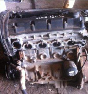 Двигатель 8 кл. Деу нексиа