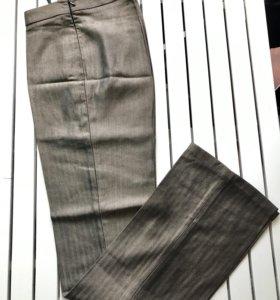 Шелковые брюки, новые, Юдашкин