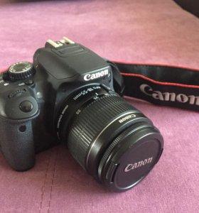 Зеркальный фотоаппарат, Canon EOS 650D