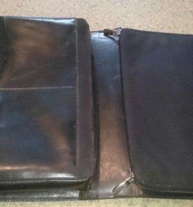 Кожаный портфель (кейс) Apple натуральный, родной.