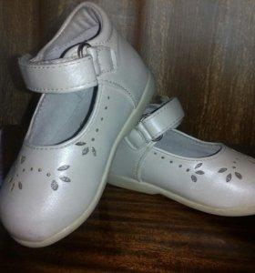 Туфли для девочек р . 20