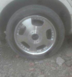 Комплект колес лето r17 5x114.3