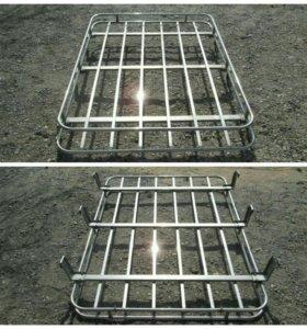 Багажник хромированный