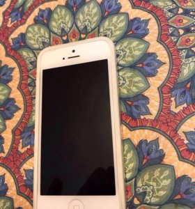 iPhone 5 16gb silver LTE