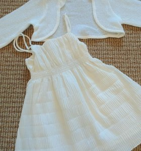 Платье + болеро, рост 74 см.