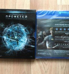 Фильмы Прометей и Социальная сеть на Blu-Ray