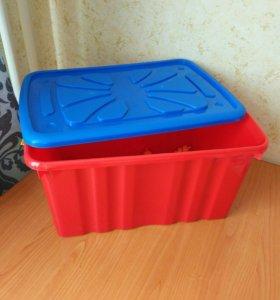 Ящик для игрушек на колёсиках( новый).600*400*300