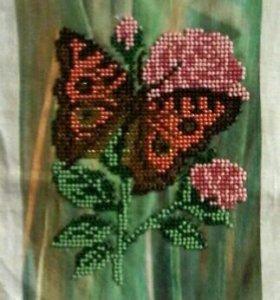 Вышивка «Бабочка»