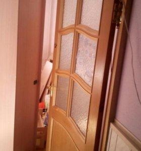 Двери межкомнатные в количестве 6 штук