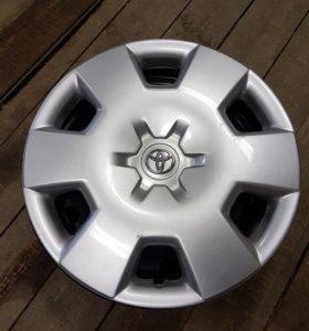 Оригинальные диски и колпаки Toyota