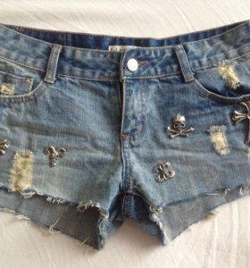 Шорты ( джинсовые )