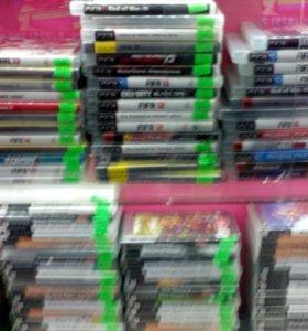 Диски PSP,PS3,4,XBOX.