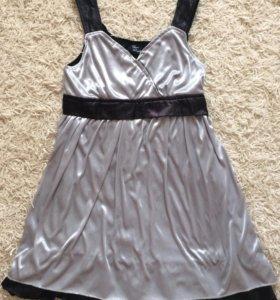Платье шелковое куплено в Европе