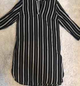 Платье-рубашка Coton