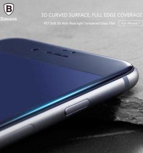 Бронь стекло Baseus Iphone 7 4,7.