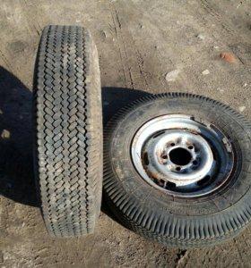 2 колеса с дисками