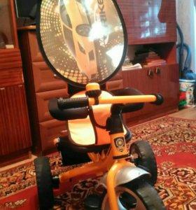 Детский велосипед с ручкой Navigator Trike