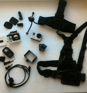 GoPro hero3 + аксессуары