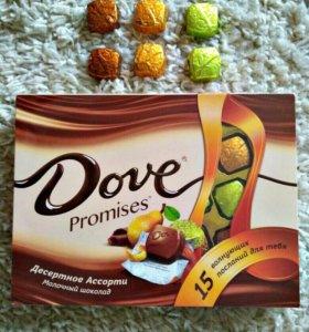 """Dove promises """"Десертное Ассорти. Молочный шоколад"""