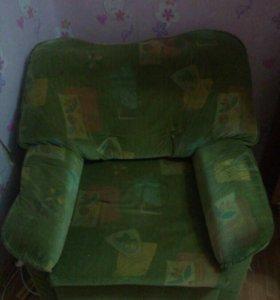 Кресло раскладное с ящиком