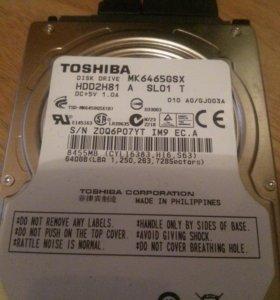 Ноутбучный диск Toshiba 640 Гб