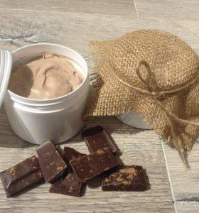 Супер-питательный шоколадный крем для тела