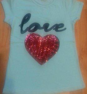 Новые футболки для девочек.
