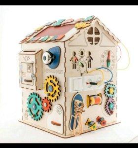 Развивающий дом большой  с электрикой