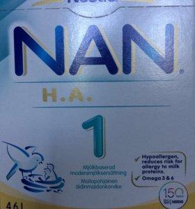 NAN 1 гипоаллергенный из Финляндии