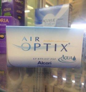 Контактные линзы Air Optix Aqua (3 шт)