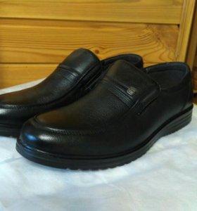 Ботинки мужские, 42 размер, натуральная кожа