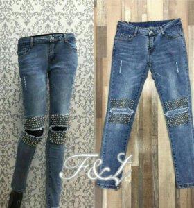 Новые джинсы модные