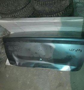 Крышка багажника рено логан